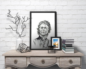 Carol/The Walking Dead/Limited Edition/Hand Drawing by Wil Shrike