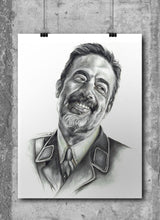 Load image into Gallery viewer, Negan/The Walking Dead/Limited Edition/Hand Drawing by Wil Shrike