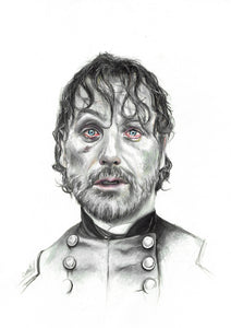 Rick Grimes/The Walking Dead/Limited Edition/Hand Drawing by Wil Shrike