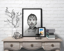 Load image into Gallery viewer, Rick Grimes/The Walking Dead/Limited Edition/Hand Drawing by Wil Shrike