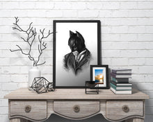 Load image into Gallery viewer, Batman/Limited Edition/Hand Drawing by Wil Shrike