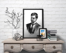 Load image into Gallery viewer, Dexter/Limited Edition/Hand Drawing by Wil Shrike