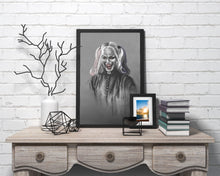 Load image into Gallery viewer, Harley Quinn/Limited Edition/Hand Drawing by Wil Shrike