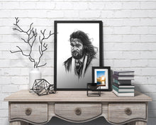 Load image into Gallery viewer, Aquaman/Limited Edition/Hand Drawing by Wil Shrike