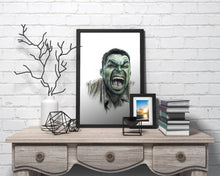 Load image into Gallery viewer, Hulk/Limited Edition/Hand Drawing by Wil Shrike