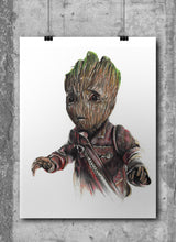 Load image into Gallery viewer, Baby Groot by Wil Shrike