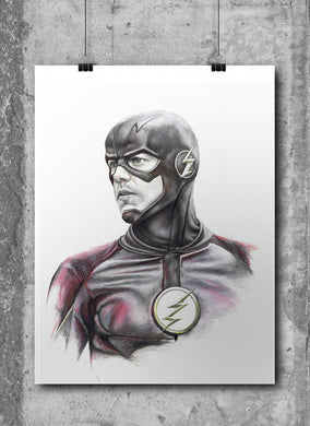 Flash/Limited Edition/Hand Drawing by Wil Shrike