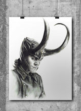 Load image into Gallery viewer, Loki/Limited Edition/Hand Drawing by Wil Shrike