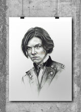 Load image into Gallery viewer, Maggie/The Walking Dead/Limited Edition/Hand Drawing by Wil Shrike
