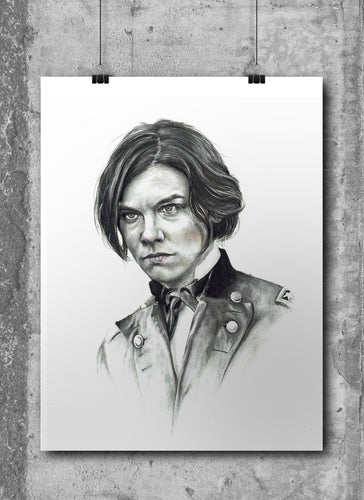 Maggie/The Walking Dead/Limited Edition/Hand Drawing by Wil Shrike