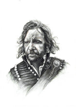 Load image into Gallery viewer, The Hound/Game of Thrones/Limited Edition/Hand Drawing by Wil Shrike