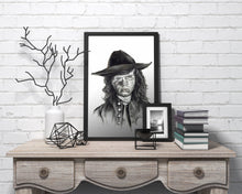Load image into Gallery viewer, Carl Grimes/The Walking Dead/Limited Edition/Hand Drawing by Wil Shrike