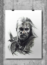 Load image into Gallery viewer, Geralt of Rivia/The Witcher