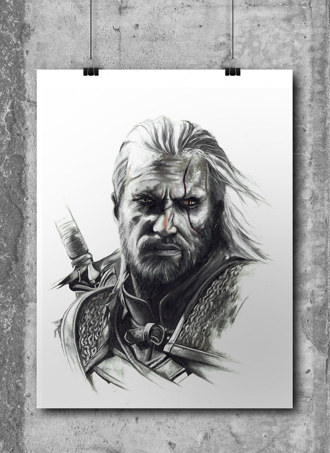 Geralt of Rivia/The Witcher