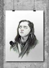 Load image into Gallery viewer, Arya Stark by Wil Shrike