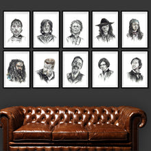 Load image into Gallery viewer, Carol/The Walking Dead/Limited Edition/Hand Drawing by Wil Shrike