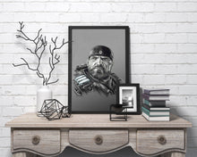 Load image into Gallery viewer, Marcus Fenix/Gears of War | Limited Edition | Hand Drawing by Wil Shrike