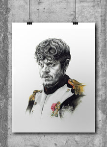 Ramsay Bolton/Game of Thrones/Limited Edition/Hand Drawing by Wil Shrike