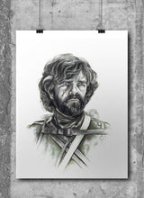 Load image into Gallery viewer, Tyrion Lannister/Game of Thrones/Limited Edition/Hand Drawing by Wil Shrike