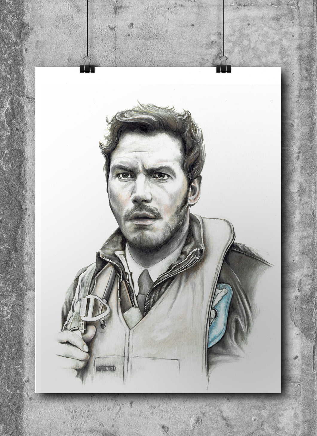 Star Lord | Limited Edition | Hand Drawing by Wil Shrike