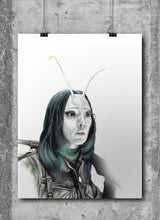 Load image into Gallery viewer, Mantis/Limited Edition/Hand Drawing by Wil Shrike