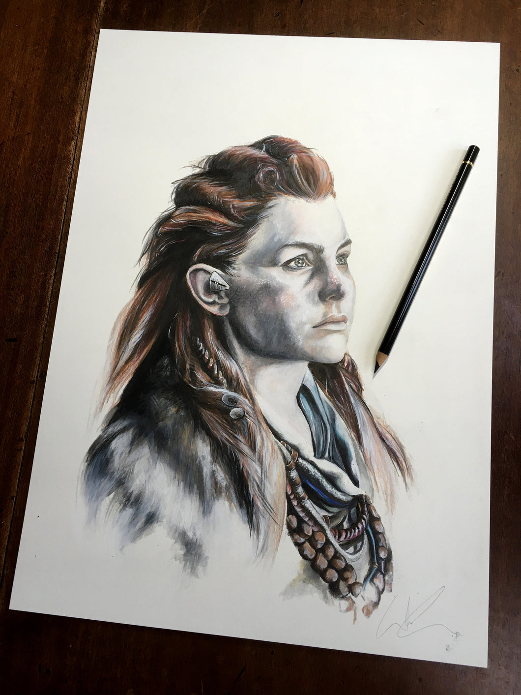 Aloy Original by Wil Shrike