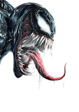 Load image into Gallery viewer, Venom | Limited Edition | Hand Drawing by Wil Shrike
