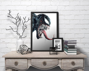 Venom | Limited Edition | Hand Drawing by Wil Shrike
