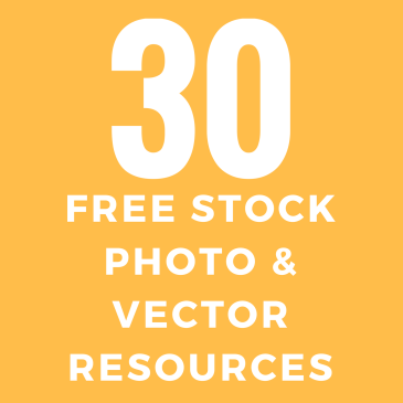 30 Resources For Free Stock Photos and Illustrations