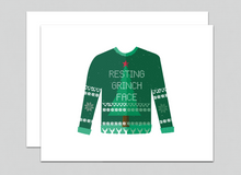 Load image into Gallery viewer, Resting Grinch Face