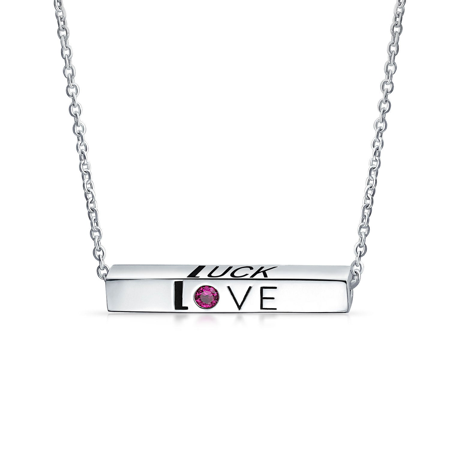AYLLU Love Luck Unity Bar Necklace