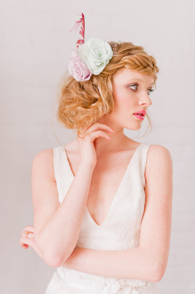 Flower Fascinator - Style #1322
