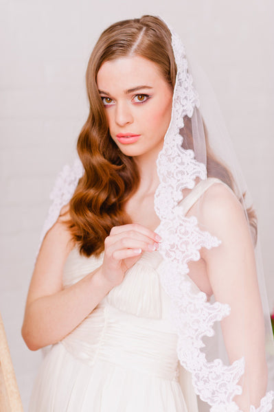 Single Tier Veil - Style #1306