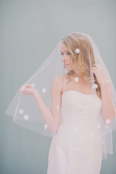 Dotted Veil - Style #1401