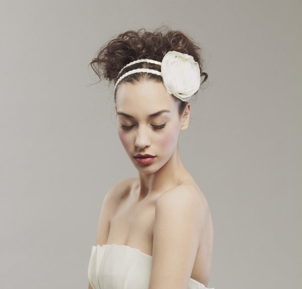 Pretty double row headband - Style #0024