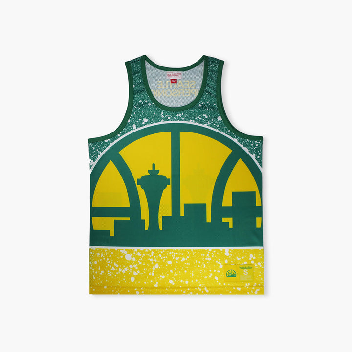 Seattle SuperSonics Jumbotron Mesh Tank