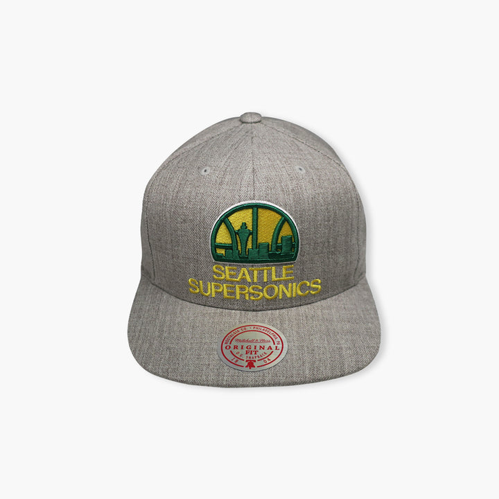 Seattle SuperSonics Team Heather Snapback