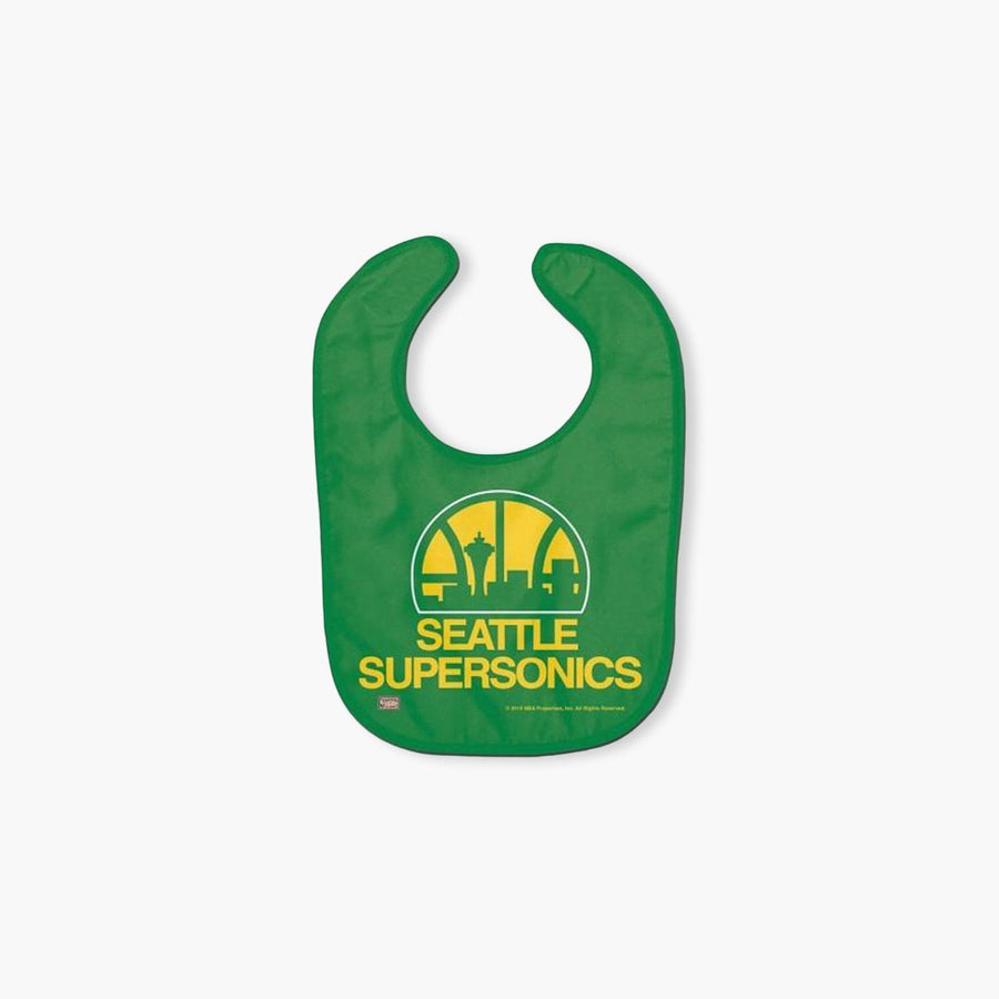 Bib - Seattle SuperSonics Baby Bib