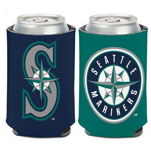 Can Cooler - Seattle Mariners 2-Color 12 Oz. Can Cooler