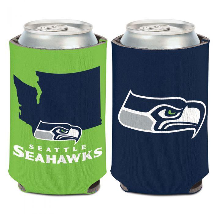 Can Cooler - Seattle Seahawks State Shape Can Cooler