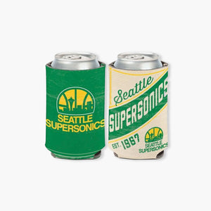 Coozie - Seattle Supersonics 12oz Can Cooler