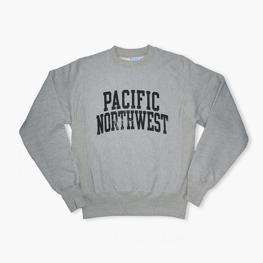 Crewneck - Champion Pacific Northwest Reverse Weave Oxford Grey Crewneck