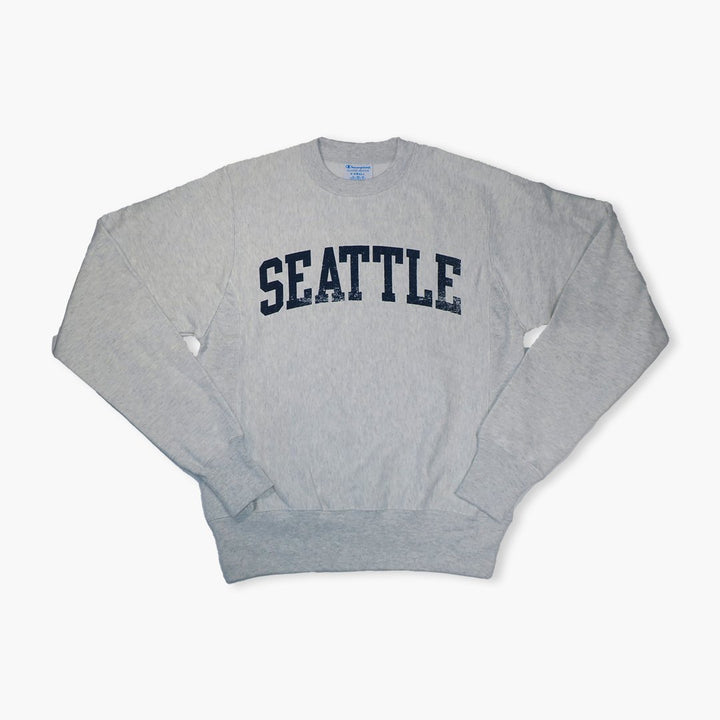 Crewneck - Champion Seattle Reverse Weave Silver Grey Crewneck