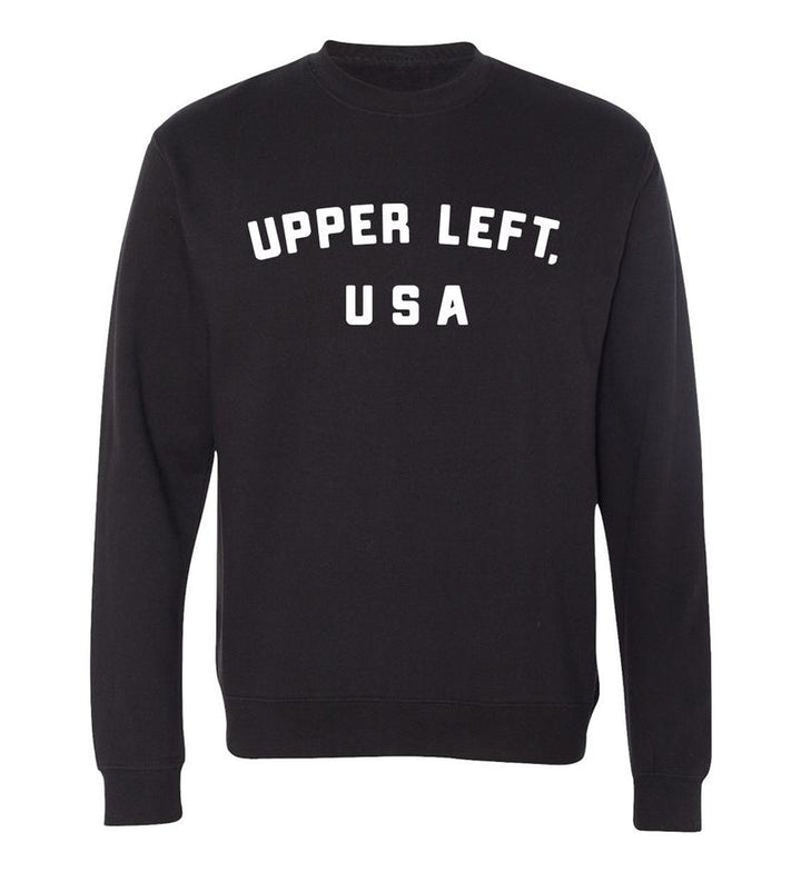 Crewneck - Upper Left USA Miller Crewneck