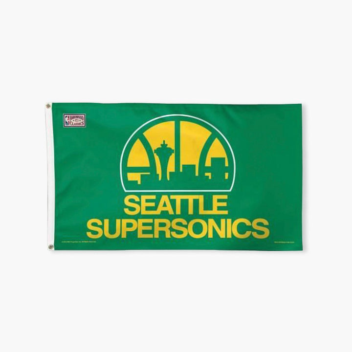 Flag - Seattle Supersonics 3'x5' Flag