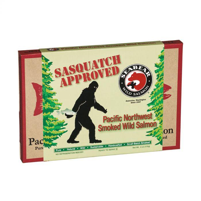 Food - Sasquatch Approved Smoked Salmon Gift Box