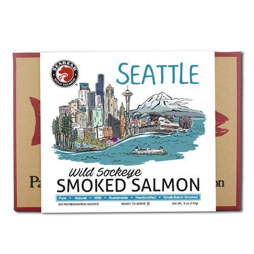 Food - Seattle Smoked Wild Sockeye Salmon