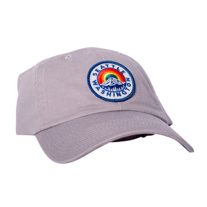 Hat - Seattle Mount Rainier Grey Dad Hat