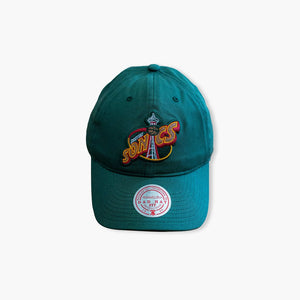 Hat - Seattle SuperSonics Original Green Space Needle Dad Hat