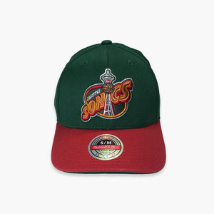 Hat - Seattle SuperSonics Wool 2-Tone FlexFit Hat